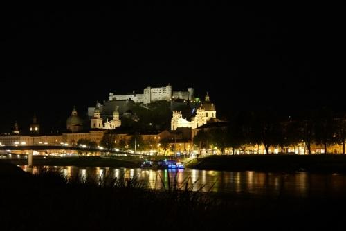 Salzburg Nachtaufnahme